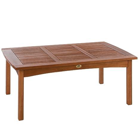 Ultranatura Table Lounge, Gamme Canberra - Élégant Bois d\'Eucalyptus ...