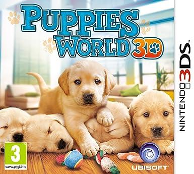 Puppies World 3D (Nintendo 3DS): Amazon co uk: PC & Video Games