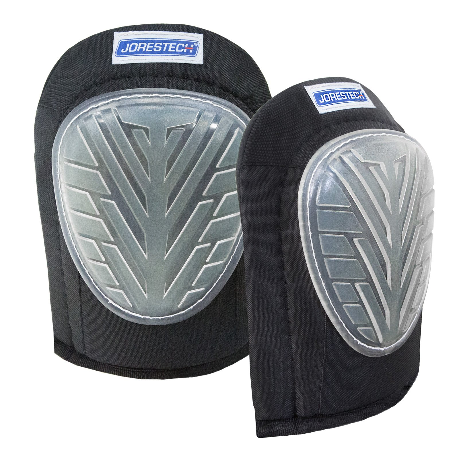JORESTECH Protective Kneepads with Comfort Gel and non marking for flooring Contractor and Gardening (Memory Foam Lined for extra comfort)