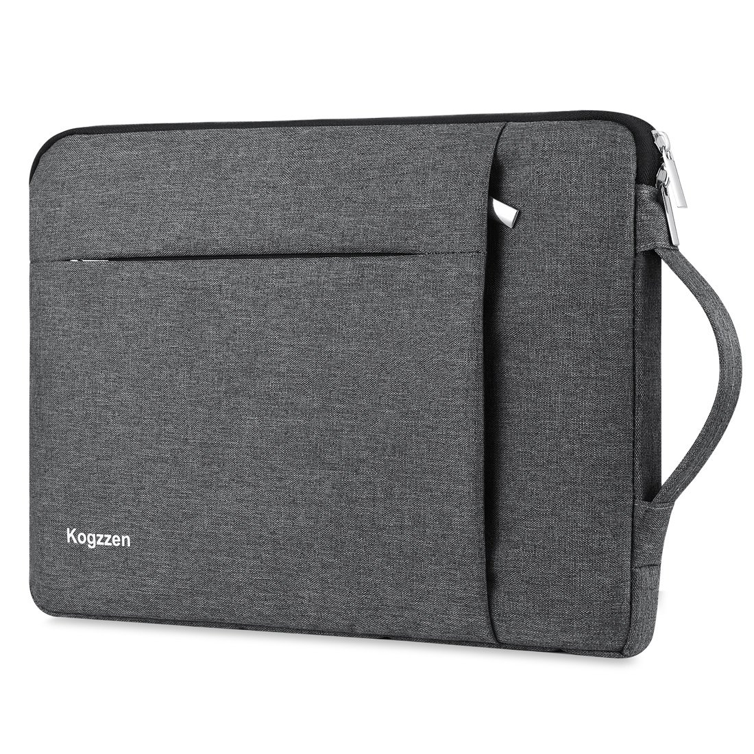Kogzzen 13-13.5 Inch Laptop Sleeve Shockproof Lightweight Case Carrying Bag Compatible with MacBook Pro 13 inch/MacBook Air 13.3/ Dell XPS 13/ Surface Book 2 13.5/ Surface Laptop/iPad Pro 12.9 - Gray by Kogzzen (Image #1)