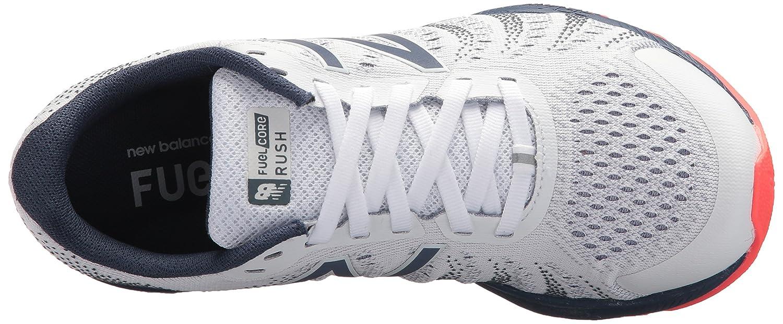 New Balance Women's Vazee Rush V3 Running Shoe B06XSCBFD8 5 B(M) US|White/Vintage Indigo