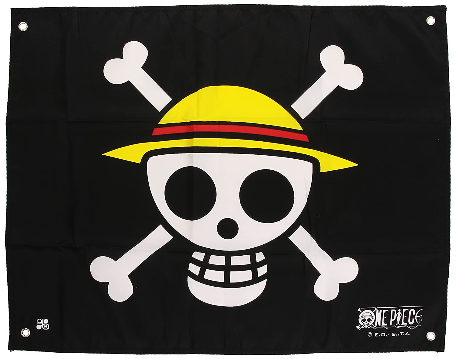 ABYstyle ABYDCT001 - One Piece Bandiera Skull With Map, 50x60 cm