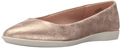 Easy Spirit Womens Madella Flat  Silver  FT8RNVV71