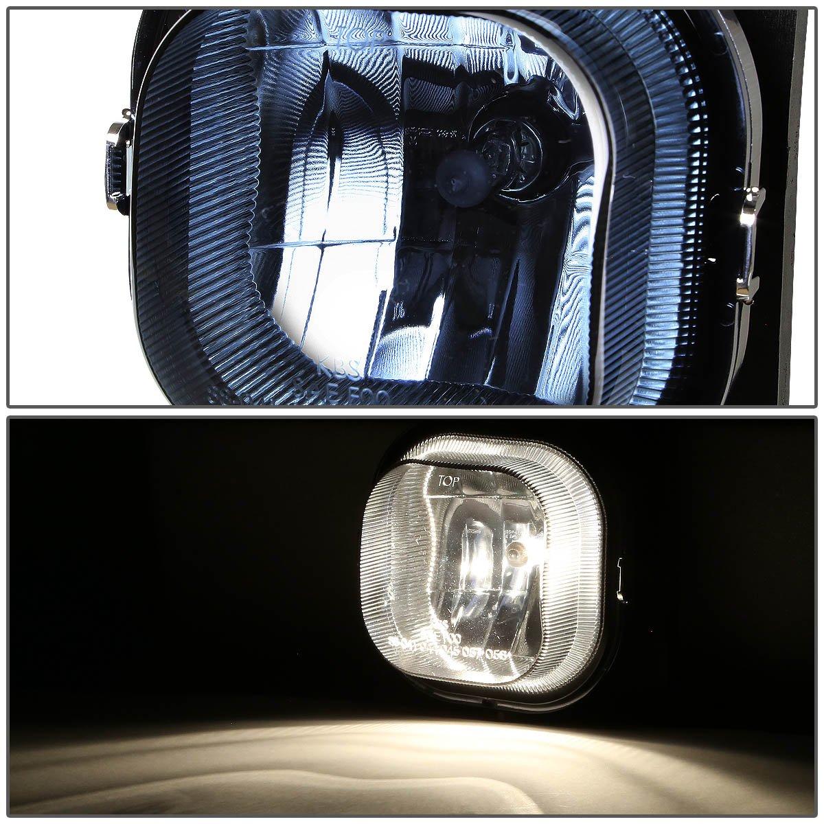 DNA MOTORING FL-T023-CH Front Bumper Fog Light