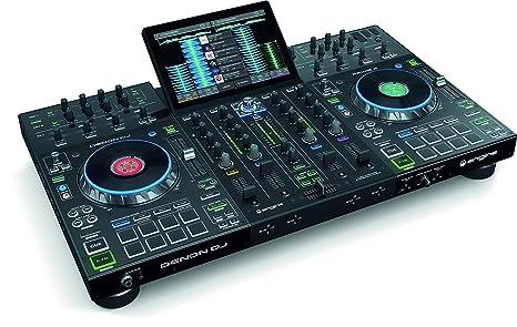 Amazon.com: Denon DJ Prime Sistema DJ de 4 cubiertas ...