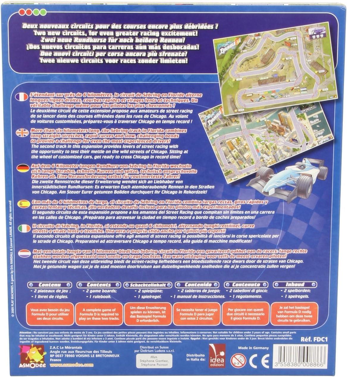 Zygomatic- Cars Formula d: Circuito 1: Sebring - Chicago - Varios ...