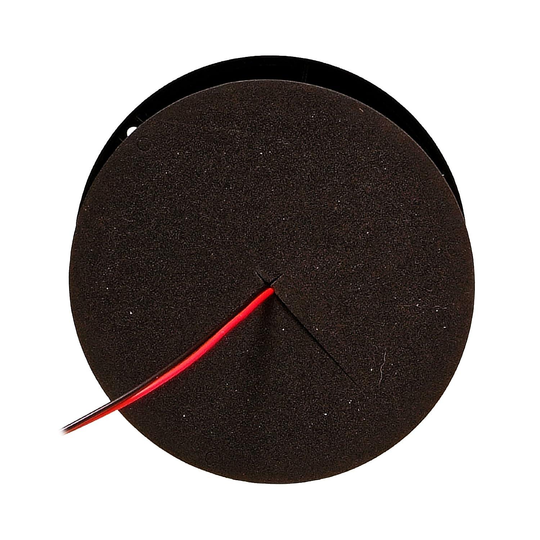 LED-MARTIN Rundumleuchte Sesto 3-Punkt Warnleuchte Klar//Gelb Professionelle Kennleuchte 12V 24V 11 Blitzmuster Blitzleuchte f/ür Den Einsatz im Stra/ßenverkehr.