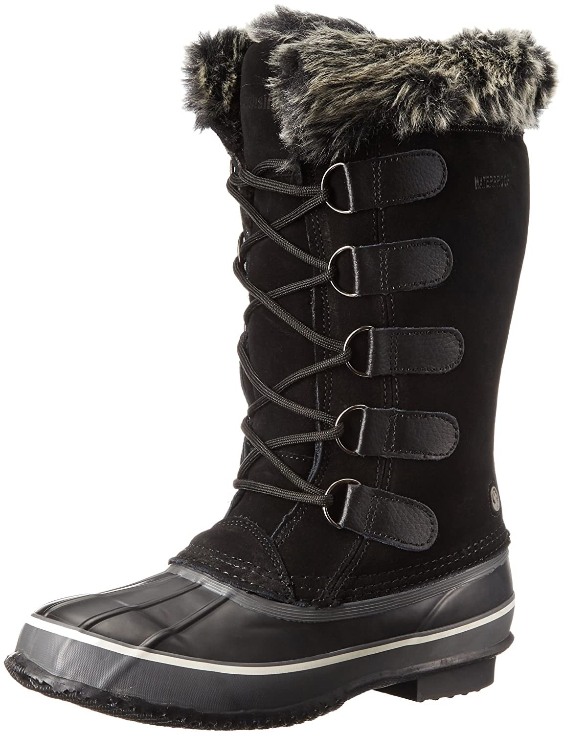 Northside Women's Kathmandu Waterproof Snow Boot B01BSOS9A4 9 B(M) US|Onyx