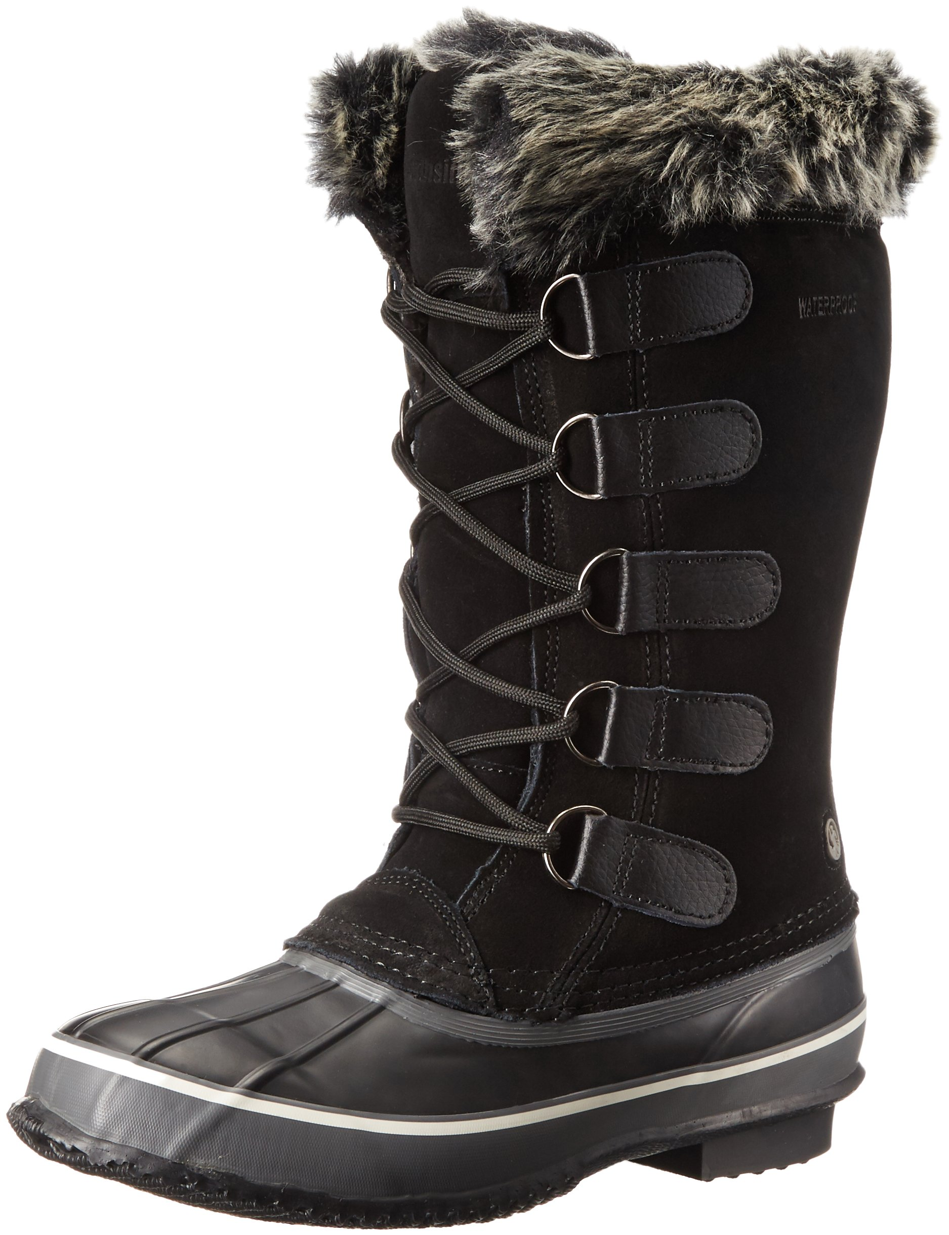 Northside Women's Kathmandu Snow Boot, Onyx, 7 M US