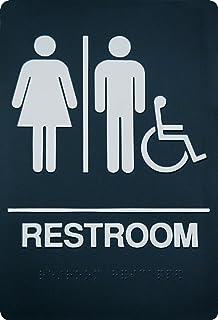 Amazoncom Headline Sign 4812 ADA Sign Restroom Symbol Tactile