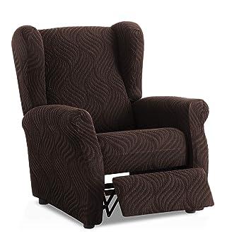 Funda de sillón Relax elástica Aitana - Color Negro - Tamaño estandar (Contáctanos para Mayor información)