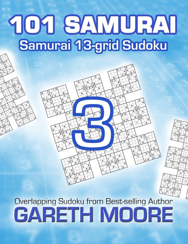 Read Online Samurai 13-grid Sudoku 3: 101 Samurai ebook