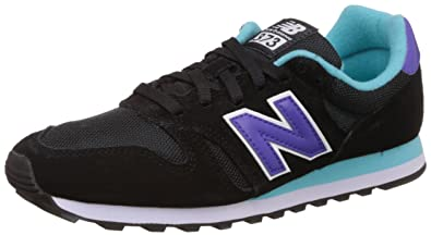 New Balance Damen Wl373 Lifestyle Funktionsschuh Black (Black/001) 36.5 EU