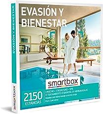 SMARTBOX - Caja Regalo mujer hombre pareja idea de regalo - Evasión y bienestar - 2150 estancias en hoteles con bañera de hidromasaje o spa, balnearios y mucho más