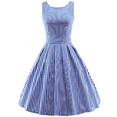 Lovesfay Vintage 1950s Dress For Women Retro Tea Party Dress Party