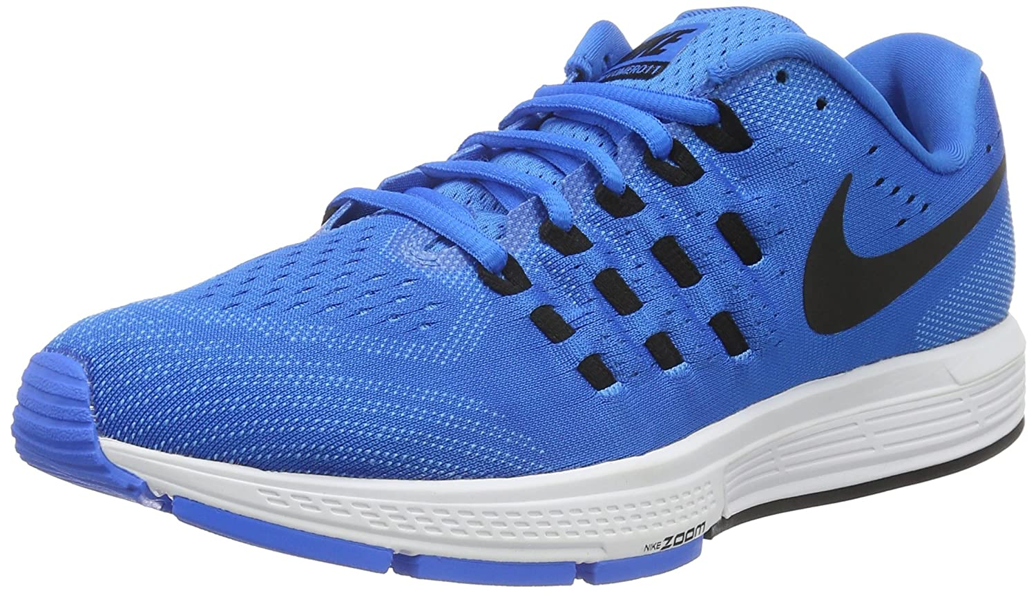 Nike Men's Air Zoom Vomero 11 Running Shoes B000G4A2E4 8.5 D(M) US|Photo Blue/Black-blue Glow-white
