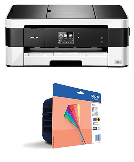 Brother MFC-J4420DW - Impresora multifunción de Tinta Profesional (WiFi, fax, impresión A3, impresión dúplex A4)