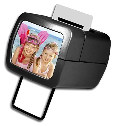 AP Photo Illuminated Slide Viewer – Battery Operated & Pressure Activated Transparency Viewer for 2x2 &