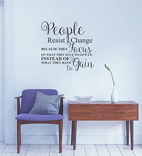 Amazon.com: Motivational wall decal quote for home, bedroom, office ...