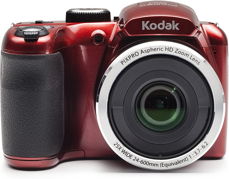 Kodak PIXPRO Astro Zoom AZ252-RD 16MP Digital Camera with 25X Optical Zoom and 3