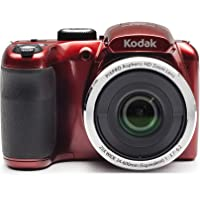Kodak PIXPRO Astro Zoom AZ252-RD 16MP Digital Camera with 25X Optical Zoom and 3' LCD (Red)