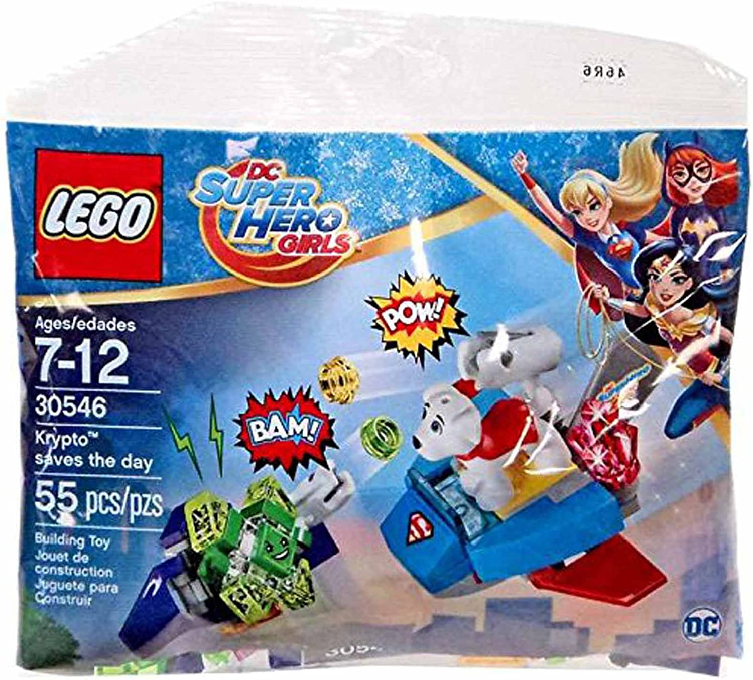 NEW Lego Krypto the Superdog and Lego Krypto Small Super Hero Dog