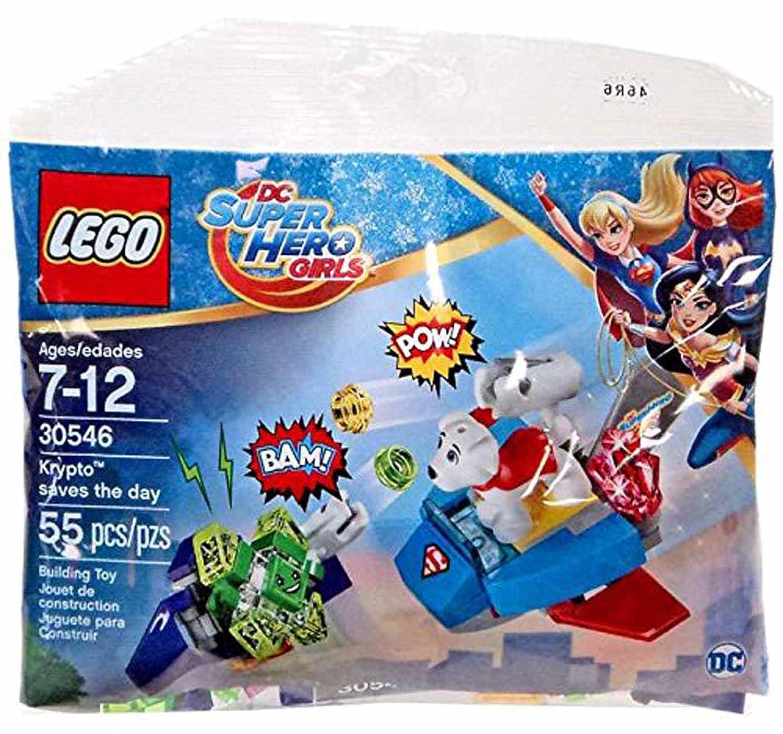 Amazon LEGO DC Super Hero Girls Krypto Saves the Day