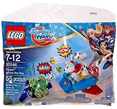 Hero The Day30546 55 Krypto Saves Lego Super Pieces Girls TFK1J3lc