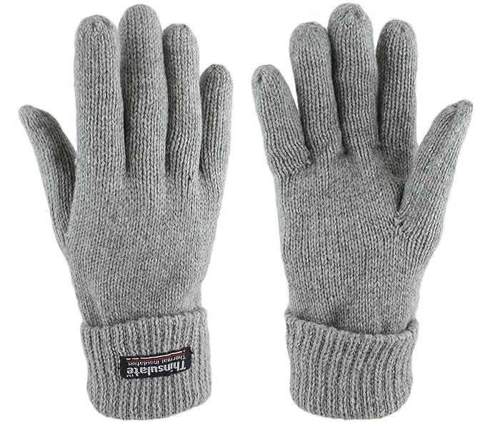 günstiger Preis Promo-Codes High Fashion Sonia Originelli Handschuhe Wolle gefüttert Fleecefutter warm weich grau  schwarz gloves wool G003