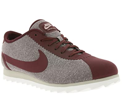 pretty nice cb18d a82e7 Amazon.com   NIKE Women s Cortez Ultra, 9.5 B(M) US, Night Maroon Night  Maroon   Fashion Sneakers