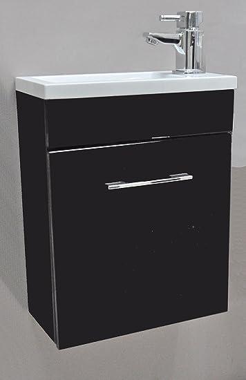 Mini Waschbecken Mit Unterschrank.Lattenrost Minimo Black Square Mini Waschbecken Mit
