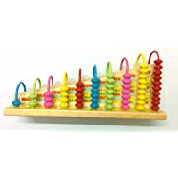 Abacus Counting and Numbers - Learning Mathematics and Calculations - Early Education - Premium Quality
