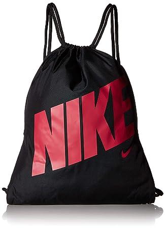 Nike Unisex-Youth Y NK GMSK - GFX Gym Sack, Black Rush Pink, One ... 142a956b30