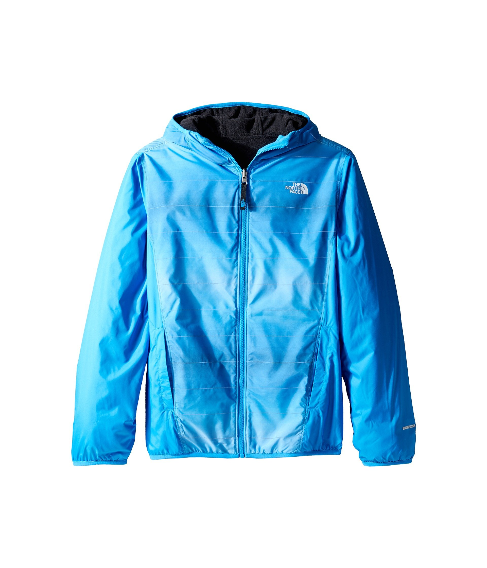 The North Face Kids Reversible Breezeway Wind Jacket Little Kids/Big Kids Clear Lake Blue Prior Season Boys Coat by The North Face