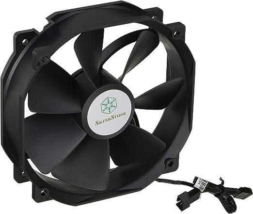 SilverStone SST-FHP141-VF - Ventilador de 140mm para ordenador de la Serie FHP, Alta presión de aire, negro: Amazon.es: Informática