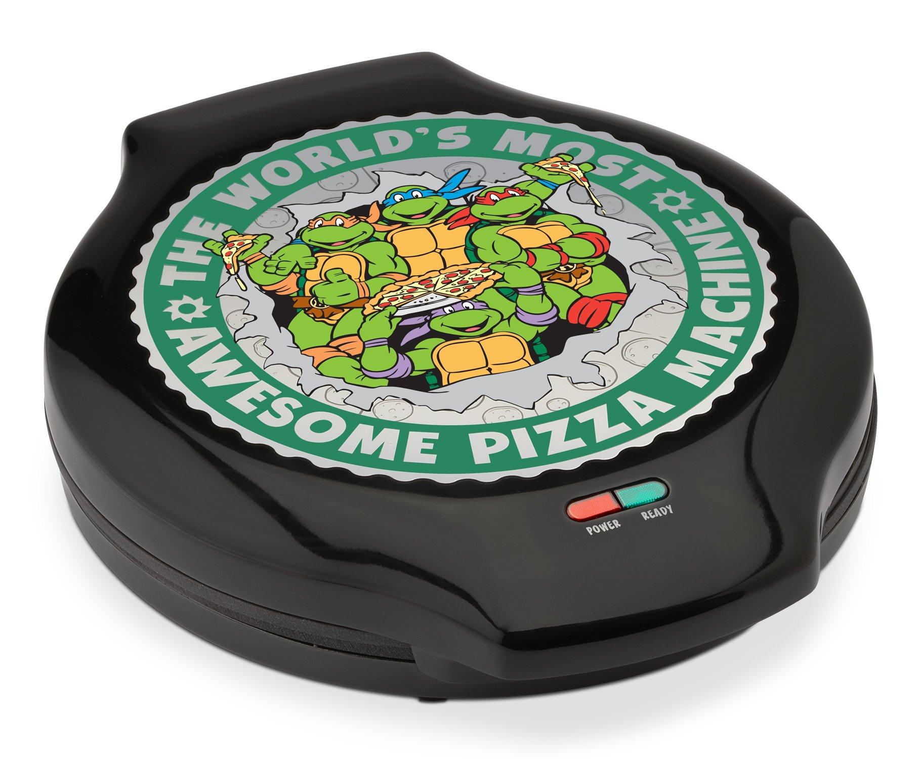 Nickelodeon NTPM-55 Teenage Mutant Ninja Turtles Pizza Maker, Green by Nickelodeon