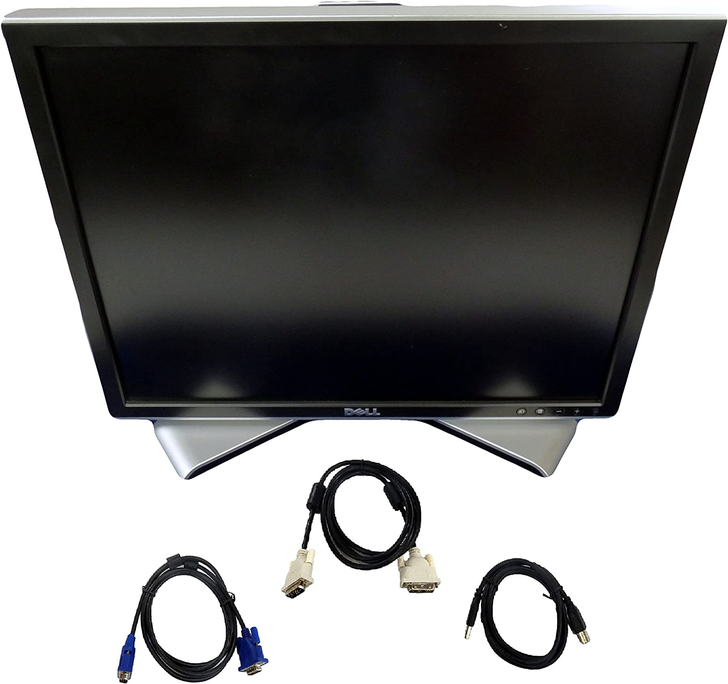 Dell 2007FP 20.1 Inch Ultrasharp 1600x1200 Flat Panel Monitor with Height-Adjustable stand – C9536