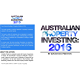 Australian Property Investing: 2016: Yield Growth Investing