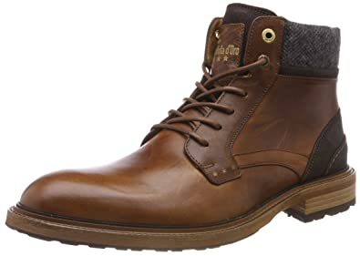 d2c6166f0c614 Pantofola d Oro PIZZOLI Uomo High, Chukka Boots Homme, Braun (Tortoise Shell