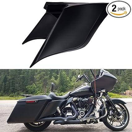 In Style; Provided Matt Black Rear Fender Cvo Style For Harley 2009-2013 Touring Road Glide King Flhr Flhx Fltrx Fltru Flhtc Fashionable