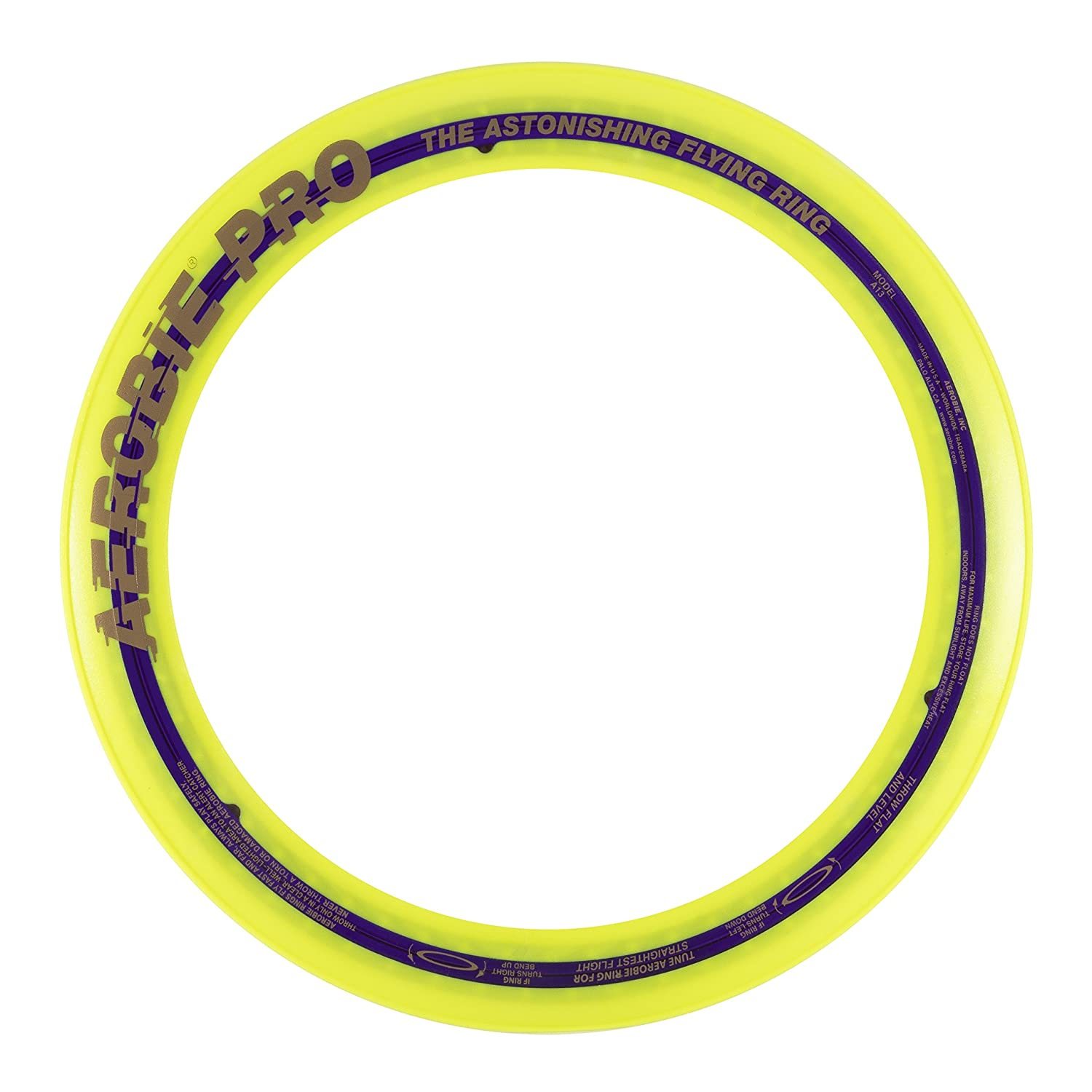 Single Unit Colors May Vary Aerobie Pro Ring