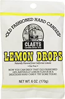 product image for Claey's Old Fashioned Hard Candy Lemon, 6 Ounce