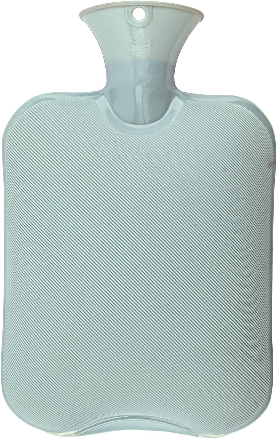 MKPCW Premium Classic Rubber Hot Water Bottle (Blue)