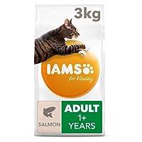 Iams Cat Food, Adult Norwegian Salmon, 3 kg