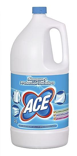Ace - Lejía, 2 L - [pack de 5]: Amazon.es: Salud y cuidado personal