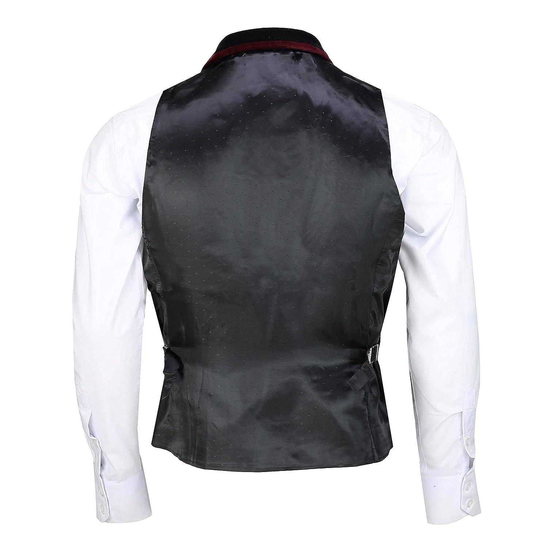 Mens Black Velvet Vintage 3 Piece Suit Blazer Waistcoat Trouser Sold Separately