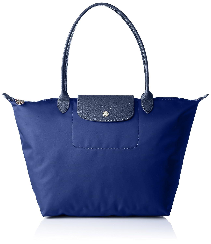 Longchamp Women s Le Pliage Neo Sac Shopping Shoulder Bag, Navy  Handbags   Amazon.com 9c4dce327f