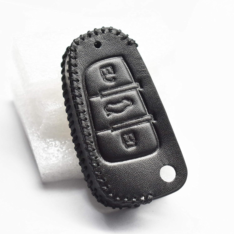 Amazon.com: Ontto - Funda de piel para llave de coche para ...
