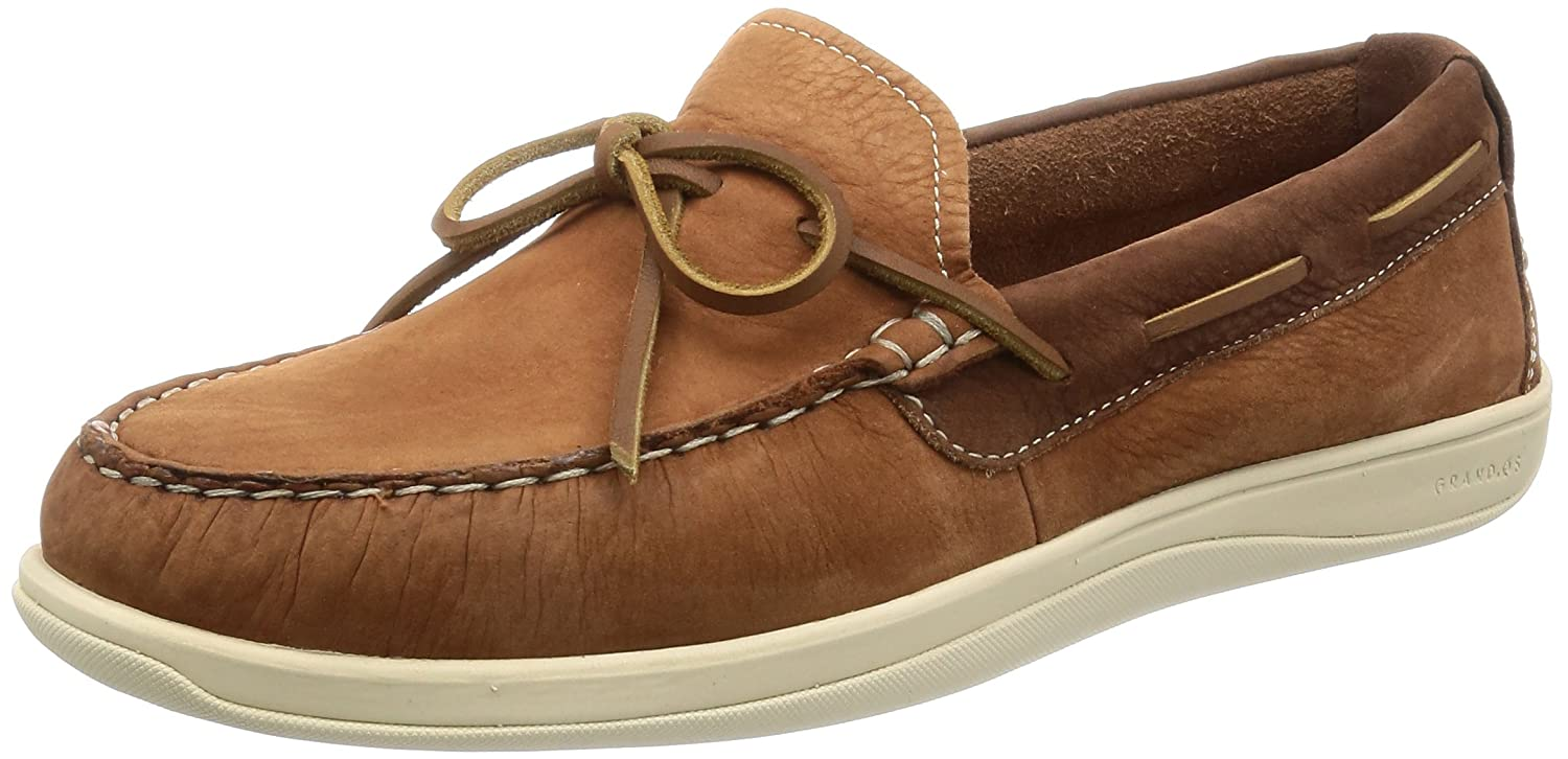 Cole Haan Men's Boothbay Camp Moccasin Boat Shoe Woodbury 9.5 M US