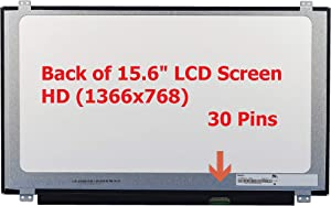 FULLCOM New 15.6 inches Screen Compatible with Aspire E15 ES1-512 HD WXGA Laptop Replacement LCD LED Screen Glossy